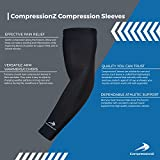 CompressionZ Compression Arm Sleeves for Men