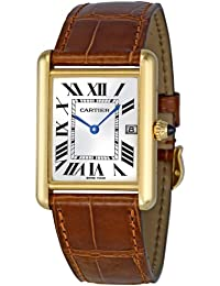 Mens W1529756 Tank Louis 18kt Yellow Gold Watch. Cartier