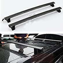 Toworld18 ONE SET of 2pcs Roof Rails Cross Bar Luggage Rack Crossbar FOR 2011-2015 JEEP Grand Cherokee