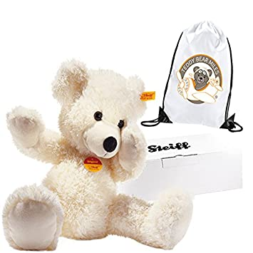 326cfc3ee0 Number 1 Selling Authentic Steiff White Lotte Teddy Bear - 40 cm and Reusable  Gift Bag