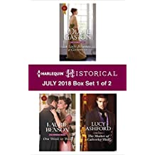 Harlequin Historical July 2018 - Box Set 1 of 2: A Lady Becomes a Governess\One Week to Wed\The Master of Calverley Hall