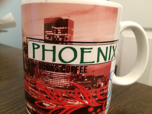 Aves Coffee - Starbucks 1999 Phoenix Old Town Mill Ave Golfing Coffee Tea Mug Cup 18 Oz