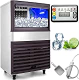 VEVOR 110V Commercial Ice Maker 132LBS/24H with