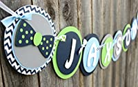 Bow Tie Baby Shower Banner