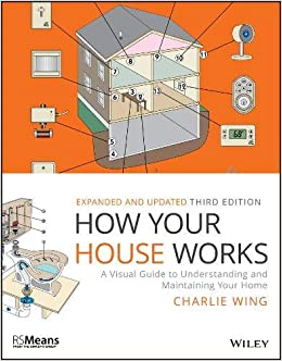 How Your House Works A Visual Guide To Understanding And Maintaining Your Home Rsmeans Wing Charlie 9781119467618 Amazon Com Books