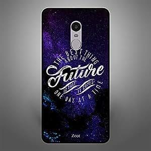 Xiaomi Redmi Note 4 Future comes one day at a Time