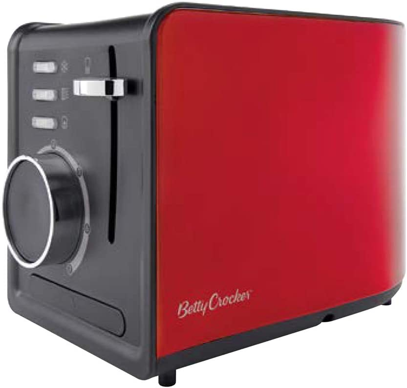 Betty Crocker WACBR603 2 Slice Toaster, One Size, Red