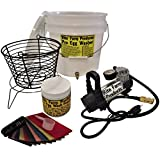 RITE FARM PRODUCTS PRO EGG WASHER KIT & COMPRESSOR CHICKEN WASHING INCREDIBLE MACHINE