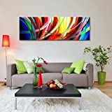 Abstract Wall Art Acrylic Painting on Canvas Hand