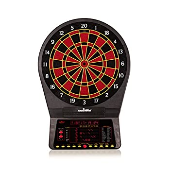 Image of Dartboards Arachnid Cricket Pro 800 Electronic Dartboard with NylonTough Segments for Improved Durability and Playability and Micro-thin Segment Dividers for ReducedBounce-outs