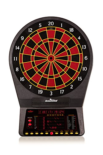 (Arachnid Cricket Pro 800 Electronic Dartboard with NylonTough Segments for Improved Durability and Playability and Micro-thin Segment Dividers for ReducedBounce-outs)
