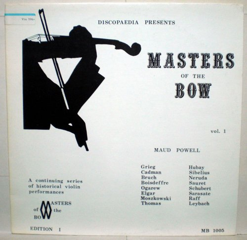 Discopaedia Presents Masters of the Bow Vol. 1, Maud (Maud Bows)