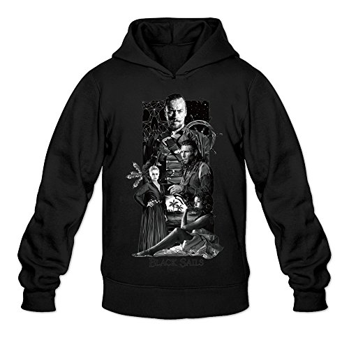Famous Children's Books Costumes (MARY Men's Television Series Black Sails Costume Sweatshirts Black)