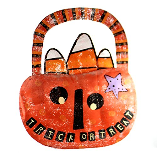 Peri Woltjer TRICK OR TREAT PUMPKIN DOOR HANGER Metal Halloween 2020150070 ()