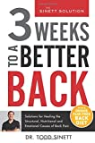 RELIEF IN JUST 21 DAYS! Eighty percent of people will suffer from back pain at some point in their life, and many suffer for far too long. This is a statistic that can be changed. Three Weeks to a Better Back is the key to giving all types o...