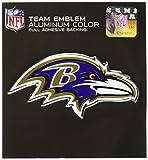 NFL Baltimore Ravens Die Cut Color Automobile Emblem