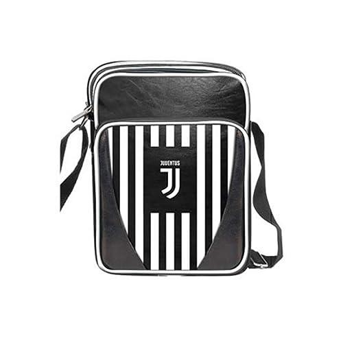 imma Borsello tracolla uomo JUVENTUS prodotto ufficiale Nero in ecopelle  Nuovo Logo 13925  Amazon.it  Scarpe e borse ab57d5aa948