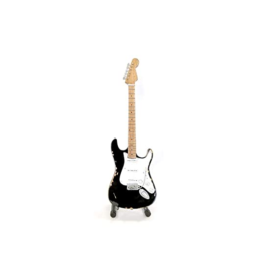 Mini guitarra mgt-0772 Pro – blackie réplica Fender Stratocaster ...