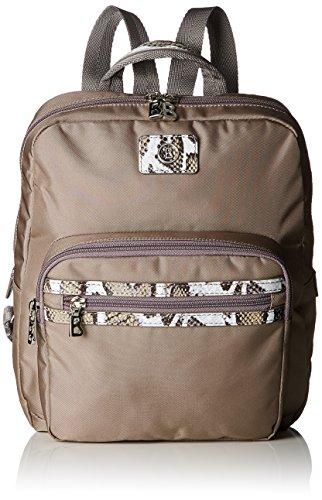 Bogner Backpack 3 - Bolso mochila Mujer Gris (Truffle 430)