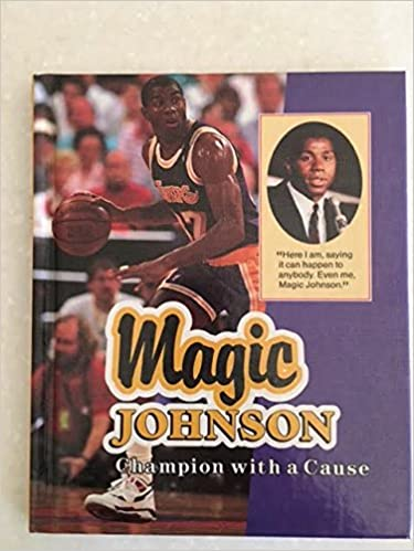 huge discount 157d9 fc132 Magic Johnson: Champion With a Cause (ACHIEVERS): Keith ...