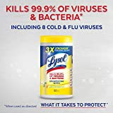 Lysol Disinfecting Wipes, Lemon and Lime