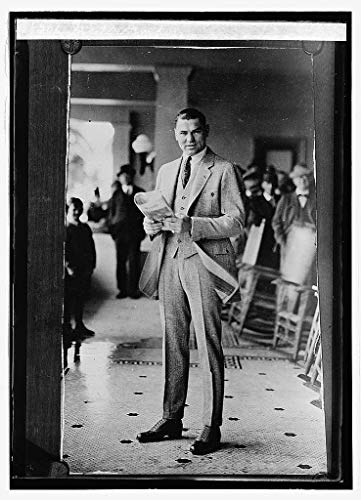 Vintography Reproduced 16 x 20 Photo of: Jack Dempsey 1924 National Photo Company