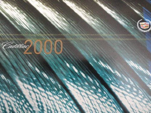 2000 Cadillac Deville / Seville / Escalade / Catera / Eldorado Sales Brochure