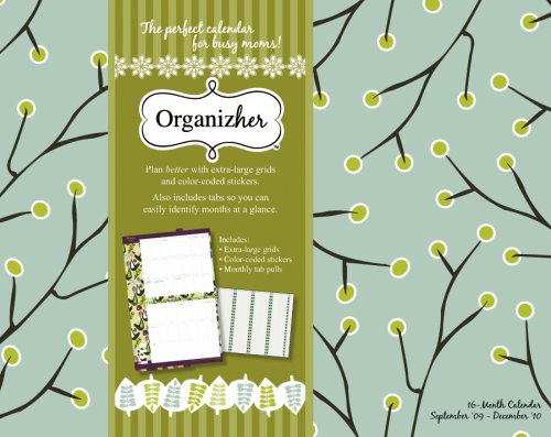 Organizher: Her Planning 2010 Wall Calendar (Day Dream Mom Line)