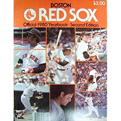 545be4b9eda Autograph Warehouse 42962 1980 Boston Red Sox Yearbook Autographed By Jerry  Remy Glenn Hoffman Tony Perez