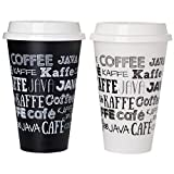 Aladdin 5 Reusable To-go Cups - Fresh Coffee White