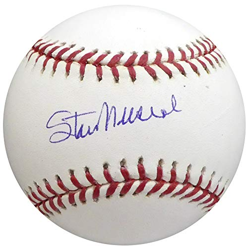 (Stan Musial Autographed Signed Memorabilia Official MLB Baseball St. Louis Cardinals - Beckett Authentic)