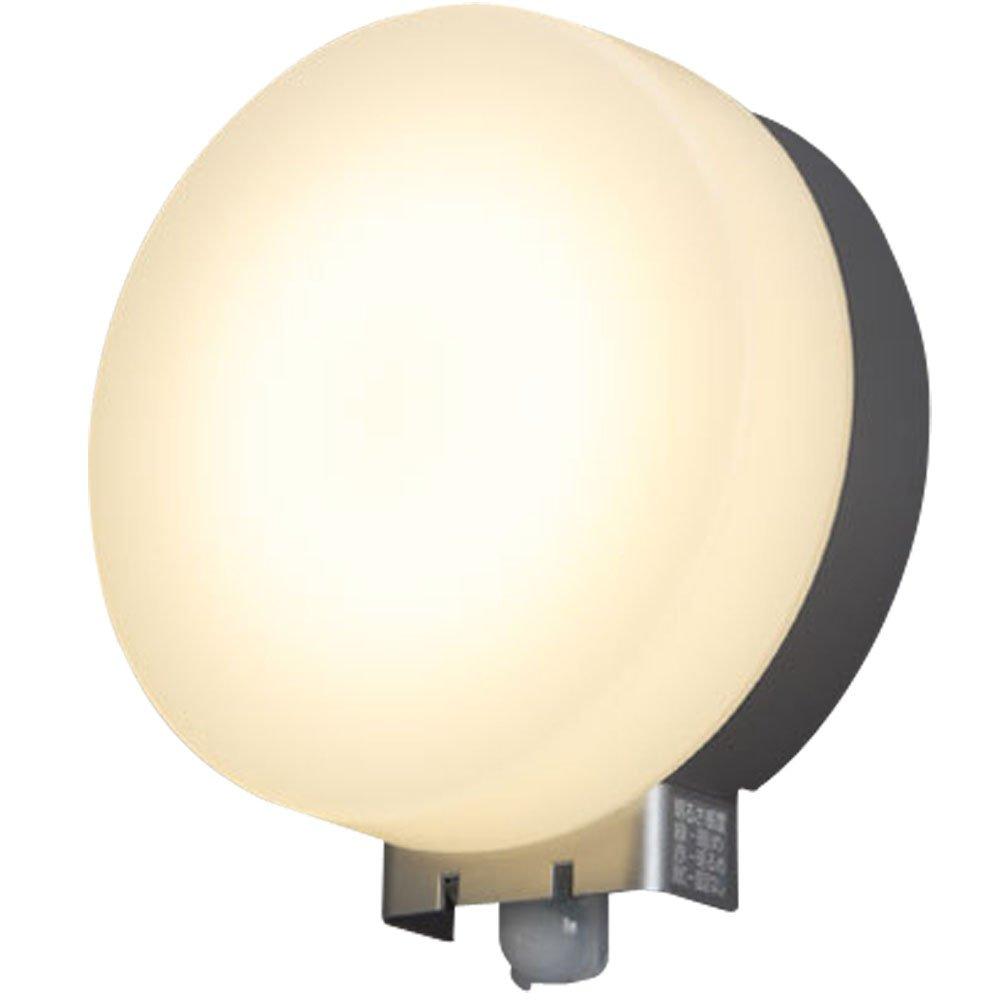 アイリスオーヤマ LEDポーチ灯 人感センサー付き シルバー 電気工事必要 IRBR5L-CIPLS-MSBS-P B06ZZQN9QY 13303
