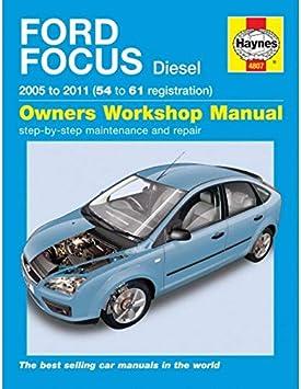 Ford Focus Diesel Service And Repair Manual 2005 2011 Haynes Service And Repair Manuals Randall Martynn Amazon Co Uk Car Motorbike
