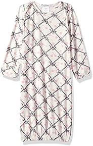 Everly Grey Womens Maternity Roxanne Nursing Pajama Set with Baby Gown Maternity Pajama Set