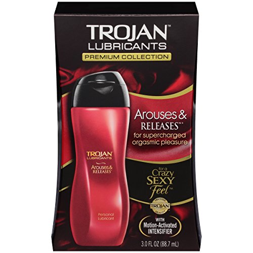 Trojan Lubricants Arouses And Releases, 3 Oz by Trojan