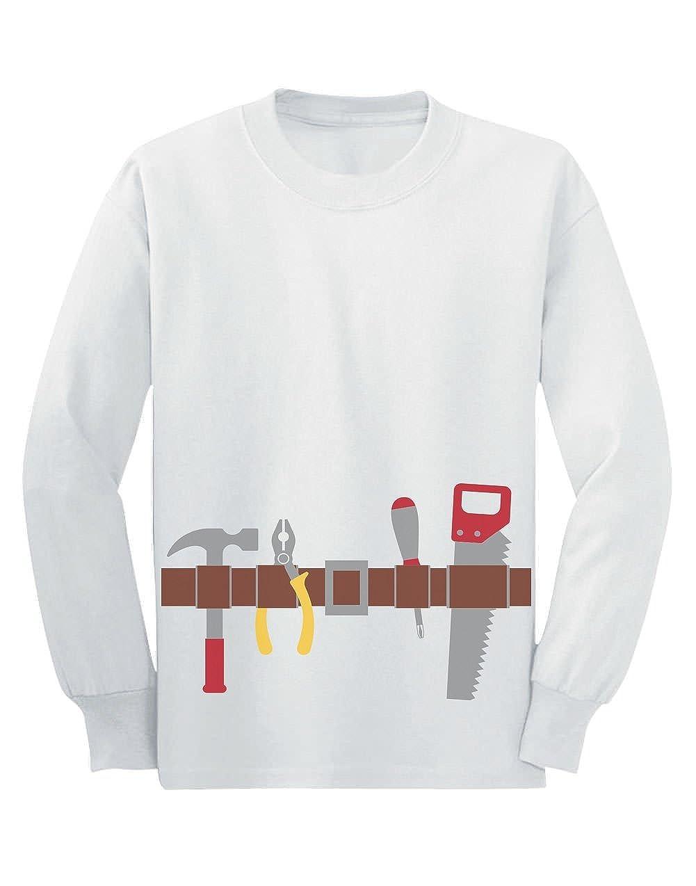 Camiseta de Manga Larga para niños - Handyman Costume - Sencillo ...