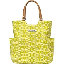 Petunia Pickle Bottom Tailored Tote, Electric Citrus Yellow