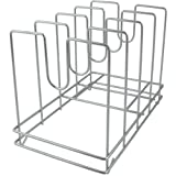 "American Metalcraft 18040 Pizza Racks, 11.2"" Length, 14.55"" Width, Silver"