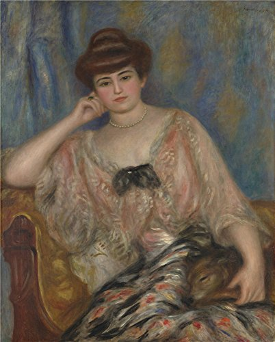 Oil Painting 'Pierre Auguste Renoir Misia Sert', 20 x 25 inch / 51 x 63 cm , on High Definition HD canvas prints is for Gifts And Bar, Kitchen And Powder Room Decoration, making from