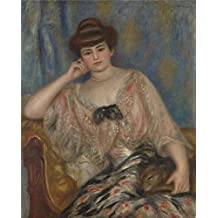 'Pierre Auguste Renoir Misia Sert ' oil painting, 30 x 37 inch / 76 x 95 cm ,printed on Perfect effect canvas ,this Reproductions Art Decorative Prints on Canvas is perfectly suitalbe for Foyer gallery art and Home decoration and Gifts