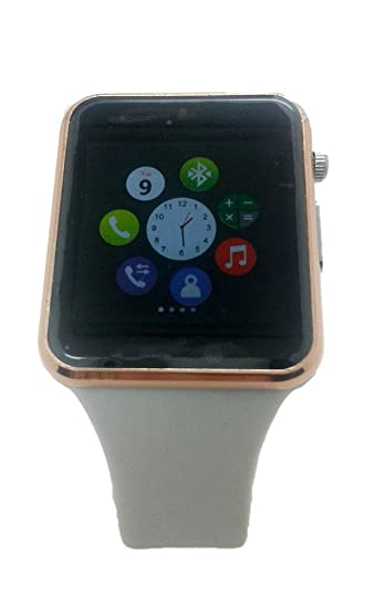 WEARABLE Reloj inteligente COMPATIBLE con Android, Smartphone/android tablet y Iphone/Pad via