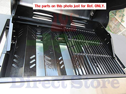 Direct store Parts Kit DG223 Replacement Jenn Air Gas Grill Repair Kit Gas  Grill Burner and Heat Plate- 3 Pack (Cast Iron Burner + Porcelain Steel