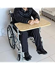 CLEAVIN Wheelchair Tray, Wood Wheelchair Lap Tray, Wheelchair Table for Patients and Elderly Writing, Reading, and Eating for Wheelchair Seat Widths 40-50cm