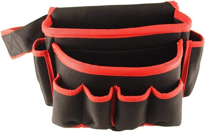 Fishyu - Estuche para Herramientas de electrónica, con cinturón de Cintura Beige Rojo: Amazon.es: Hogar
