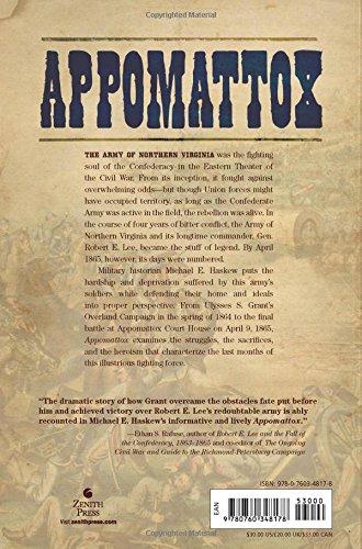 To Appomattox Nine April Days 1865