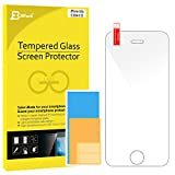 iPhone 4s Screen Protector, JETech Premium Tempered Glass Screen Protector for iPhone 4 and iPhone 4s - 0305