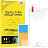 iPhone 4S Screen Protector, JETech® Premium Tempered Glass Screen Protector for iPhone 4 and iPhone 4S