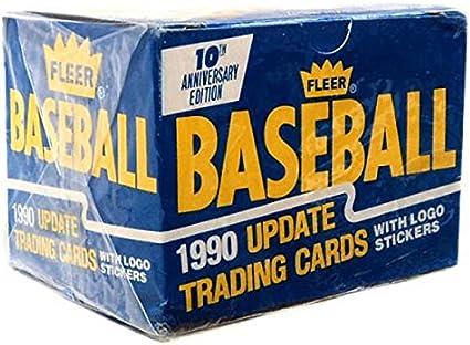 1990/Fleer Baseball Update Trading Cards by Fleer