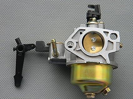 Amazon.com: Ajustable – Con palanca de Choke Carburador Para ...