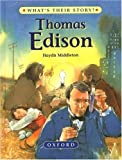 img - for Thomas Edison: The Wizard Inventor (What's Their Story?) book / textbook / text book
